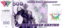500 Eartho - Global Earth Currency