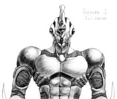 Guyver 1 - Evil Version by Adremelech