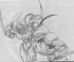 Guyver 2 vs Guyver 1 by Evil