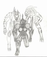 Guyver B (Blade) by Martin (Timber) Kelly