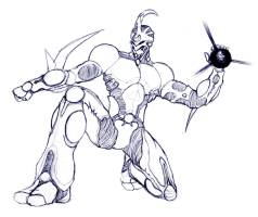 Guyver design 1 by Adremelech