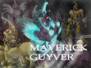 Maverick Guyver wallpapers by Jess Kendrick. Персонажи by Jess Kendrick, Jon Ludlow и Jared Trulock