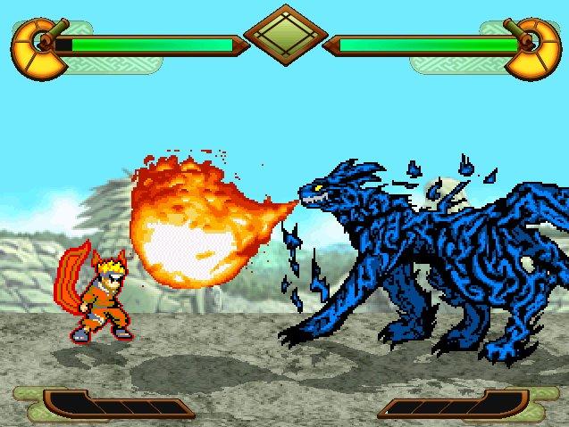 скачать игру Mugen Naruto - фото 6