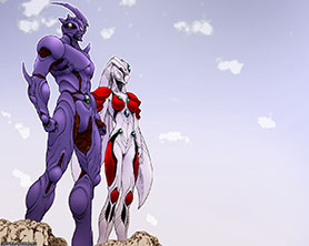 Guyver 3 and Griselda wallpaper