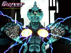 Guyver Powerfull Charge - обои by Asgard Knight